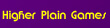 Higher Plain Games Logo